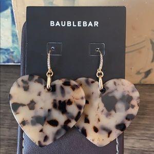 BAUBLEBAR HEART DROP EARRINGS!!